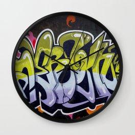 Melbourne Graffiti Wall Clock