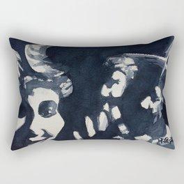 Jabs Come Down J'Ouvert Morning Rectangular Pillow
