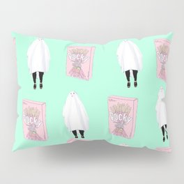 Ghost Pocky Pillow Sham