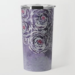 Art-ichoke in purple Travel Mug