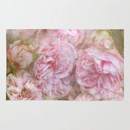Vintage English Roses Rug