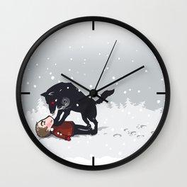snowtime Wall Clock