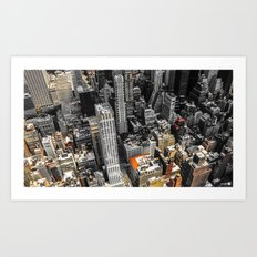 NYC - Bricks and Stones Art Print