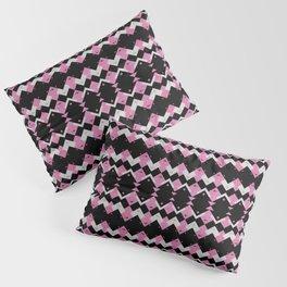 Pink Flamingos Art Deco Pattern Pillow Sham
