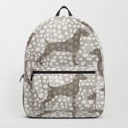 WEIMARANER SPOTS Backpack