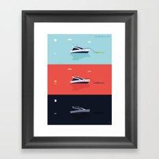 ONE SUMMER'S DAY Framed Art Print