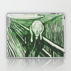 The Scream's Haze (green) Laptop & iPad Skin