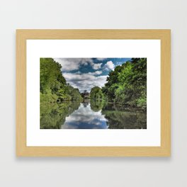 River Bure Wroxham to Coltishall Framed Art Print
