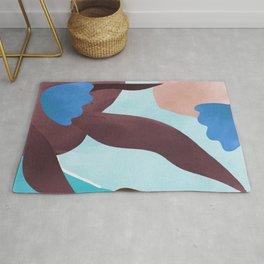 Color Paradise III #illustration Art Print Rug