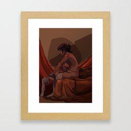 Sentada Framed Art Print