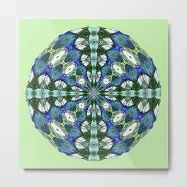314 - Abstract Orb design Metal Print