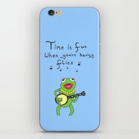 muppets iPhone & iPod Skins featuring Muppets Kermit by BlackBlizzard