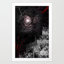 Eye of the Storm Art Print