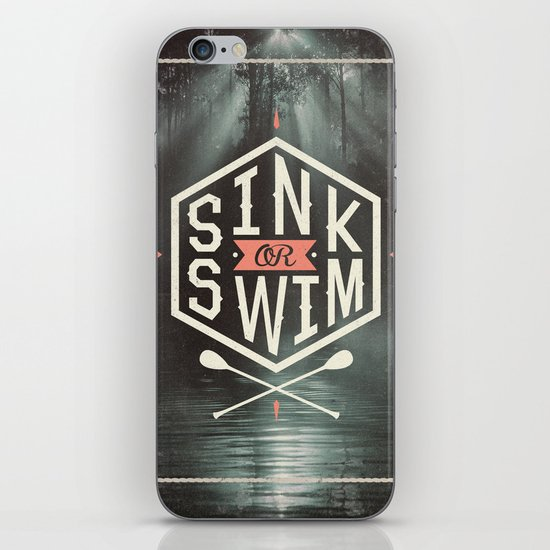 SINK OR SWIM iPhone & iPod Skin