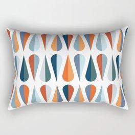 Colorful raindrops pattern Rectangular Pillow