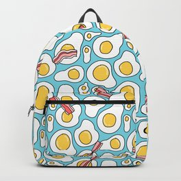 Eggs and bacon Backpack