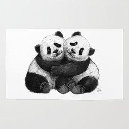Panda's Hugs G143 Rug