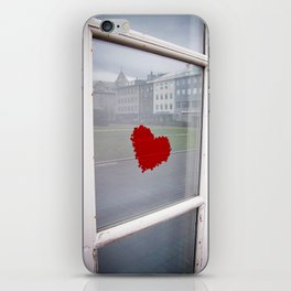 found heart iPhone Skin