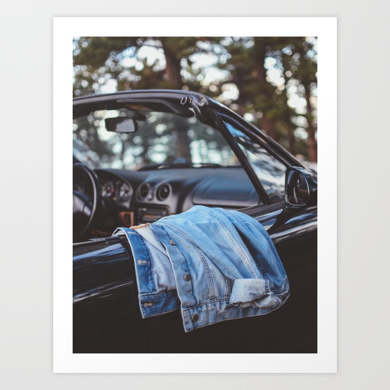 Blue Jean Baby Art Print by Kattorsiello PRN8555123