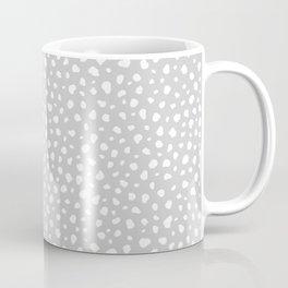Grey Dalmatian Print Coffee Mug