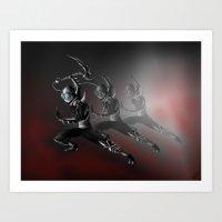 The Shinobi Assassin Art Print