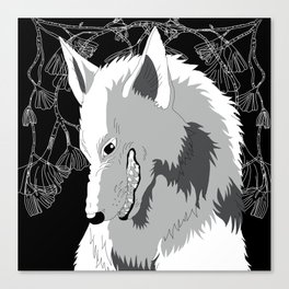Wolf God Canvas Print