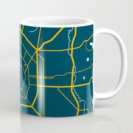 Milan Italy Map Coffee Mug