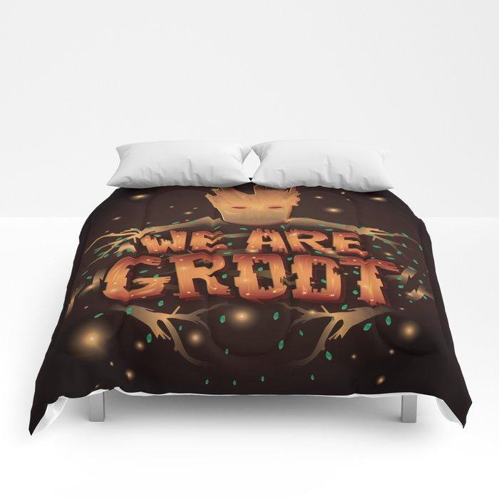 We Are Groot Comforters