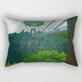 Bridging the Gap Rectangular Pillow