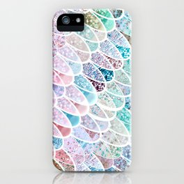 DAZZLING MERMAID SCALES iPhone Case