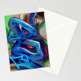 """""""B is for Bam!"""" Stationery Cards"""