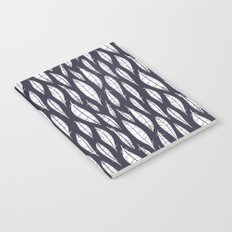 Quail Feathers (Midnight) Notebook