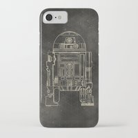 r2d2 iPhone & iPod Cases featuring R2D2 by LindseyCowley