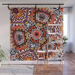 Tribal Abstract Wall Mural