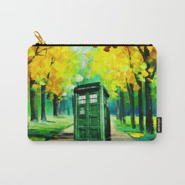 PAINTING TARDIS Carry-All Pouch