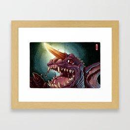 Baragon GMK Framed Art Print