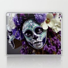 Willow Blossom Muertita Detail Laptop & iPad Skin