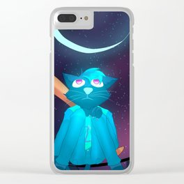 Dream Mae Clear iPhone Case