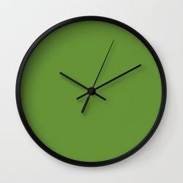 Wasabi Green Colour Wall Clock