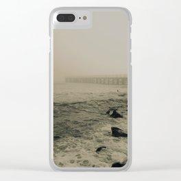vanish in the haze.. Clear iPhone Case