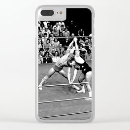 Kevin VonEric vs Frank Star Clear iPhone Case
