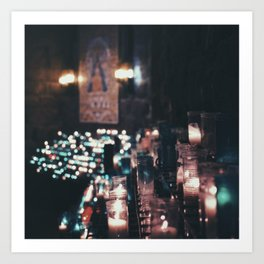 Montserrat Lights Art Print
