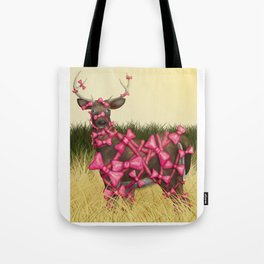 Bow Season Tote Bag