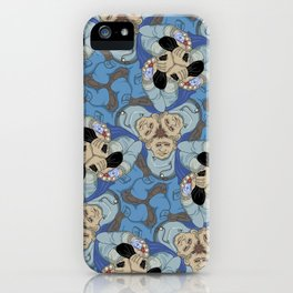 Jewel Thief tessellation iPhone Case