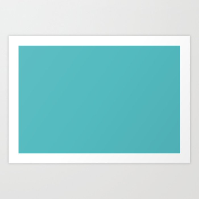 Tiffany Blue Yep That S The Colors Name Art Print