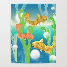 Toy Catfish Under the Sea Poster