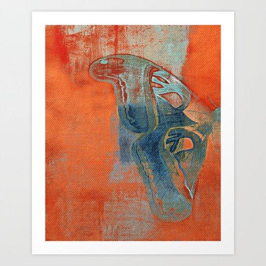 Moths 5  Art Print