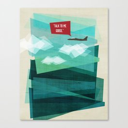 Talk To Me Goose Canvas Print