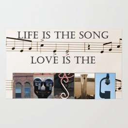 Love of Music Rug