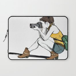 Photograph in the making Laptop Sleeve